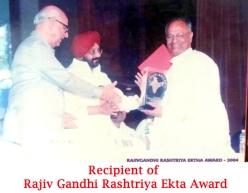 Rashtriya Ekta Award