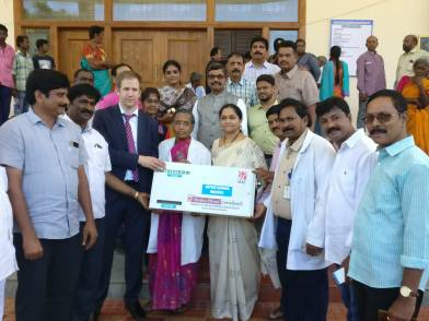 Donation by Medico Abroad